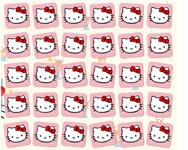 Hello Kitty memory game online j�t�k