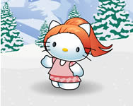 Hello Kitty winter dress up j�t�k