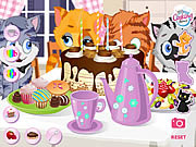 Kitty tea party Hello Kitty j�t�kok ingyen