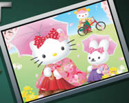 Sort my tiles Hello Kitty j�t�kok