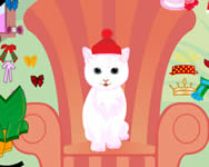 White Kitty dressup online j�t�k
